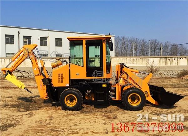 装载挖掘机 前铲后挖装载机 ?铲挖两头忙
