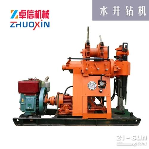 XY-100液压水井钻机厂家现货 全液压岩芯钻探钻机