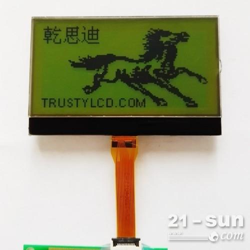 2.5寸单色LCD液晶显示屏12864图形点阵