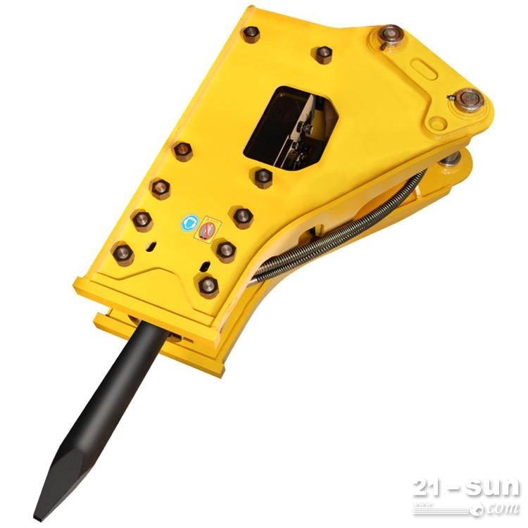 四川破碎锤 挖机属具 供货厂家 大型破碎锤 68破碎锤 水泥路破碎