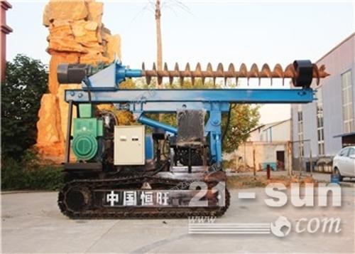 效率强大厂家直销恒旺HZD-300L地基桥梁打桩机