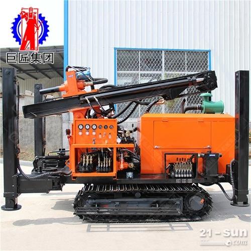 FY-200履带式气动水井钻机