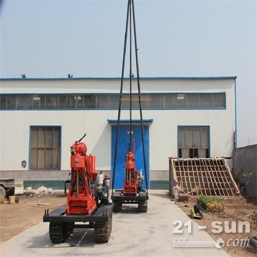 厂家供应优质XY-180型履带水井钻机
