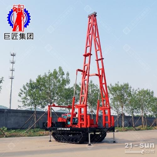 SH30履带式工程地质勘察钻机30米砂金探矿钻机取沙取土钻机冲击式取样