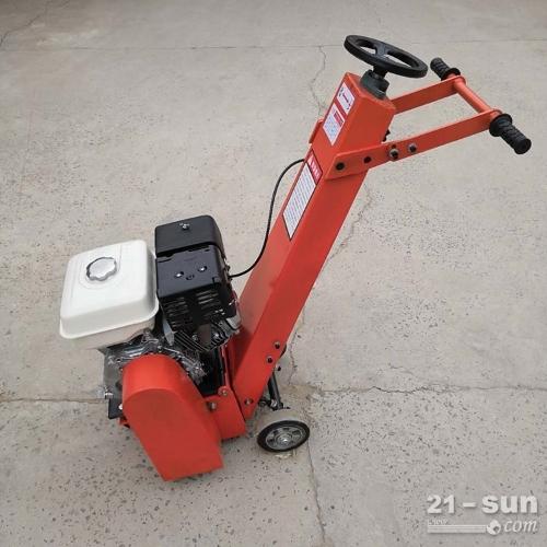 手推式铣刨机 柴油混凝土铣刨机