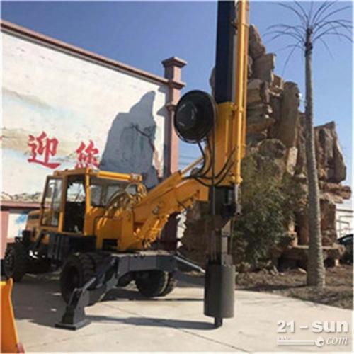 热销工程建筑用旋挖钻机 回转式地表钻探机 多种地形全液压打桩