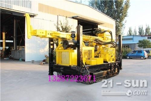 ST-L500履带式气动水井钻机 农业灌溉家用气动打井机  深水井气动钻机
