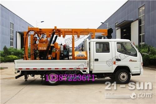 车载式工程水井钻机 农业灌溉地质勘探车载钻机 全液压水井钻机