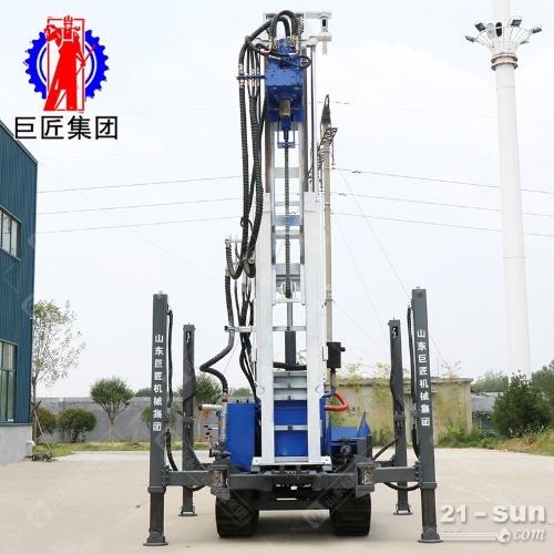 HBZ-1履带式环保钻机 液压直推式取土钻机 可双管取土样打螺旋建井