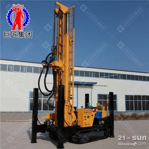 潜孔钻机CJD-600履带式气动水井钻机600米潜孔钻车