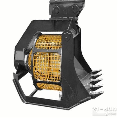 稳定又可靠 液压筛分斗 挖机筛斗 传动效率高