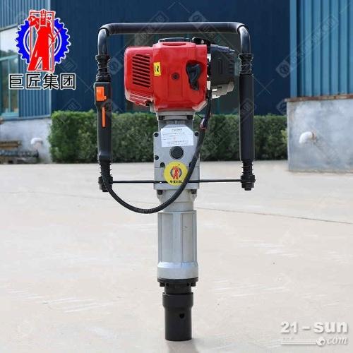 QTZ-3汽油机便携式取土钻机地质勘察钻机