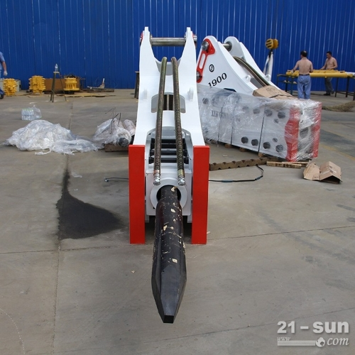 挖机炮锤 振动破碎锤 挖机使用破碎锤 破碎机高频破碎锤