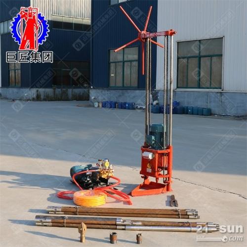 工地常见的三相电动力岩心取样钻机25米的轻便地质勘探钻机