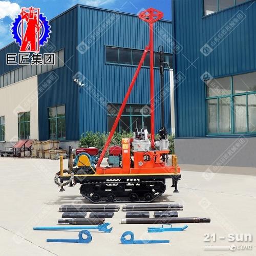 YQZD-30型30米小型轻便液压岩心钻机 地质勘探岩芯取样钻机履带式可行走