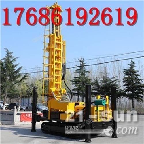 厂家热卖气 水气两用钻井机勘探水井钻机家用履带钻井机