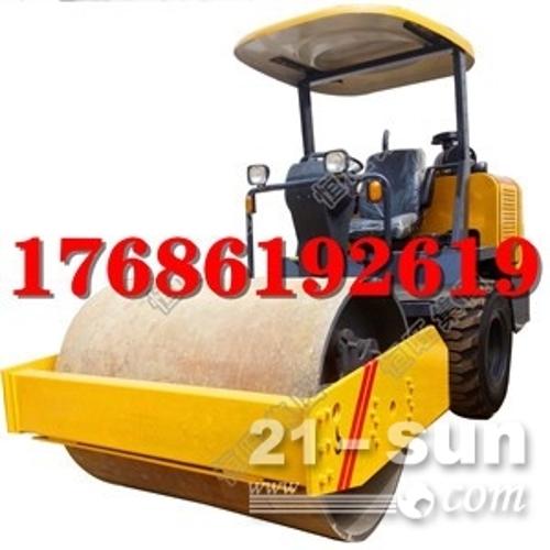 厂家直销 3.5吨压路机 单钢轮压路机 3T座驾式压路机