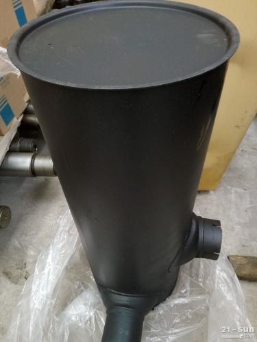 小松挖掘机PC300-7消音器 小松配件