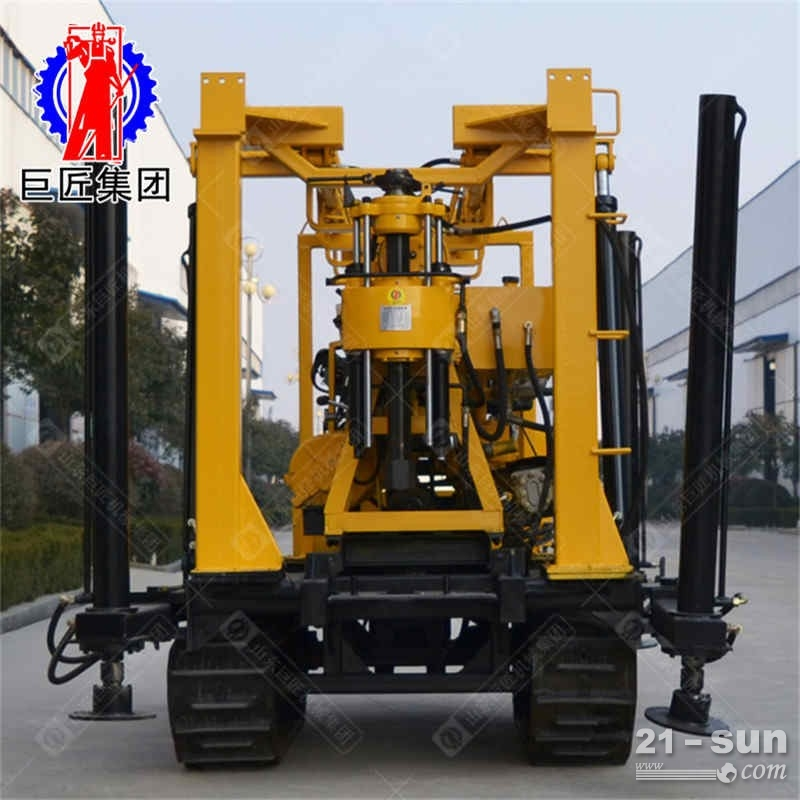 XYD-130履带液压岩芯钻机地质普查勘探钻机