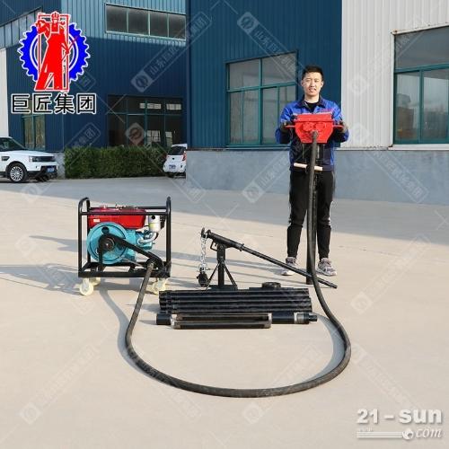 柴油机动力QTZ-4便携式取土钻机25米环境土壤检测取样器