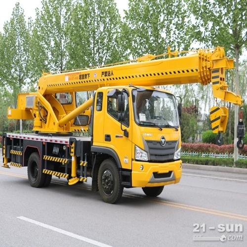 济宁新款16吨吊车 陕汽16吨吊车价格