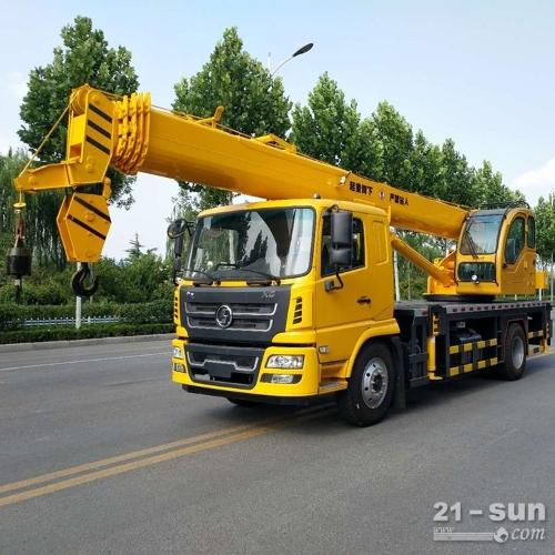 斯凯12吨吊车 东风12吨汽车起重机