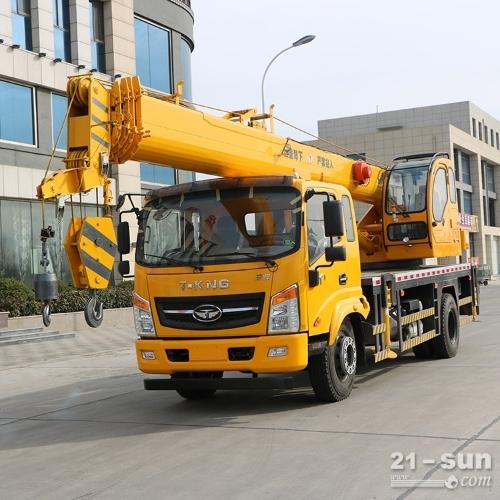 济宁福康8吨吊车 凯马8吨汽车吊配置