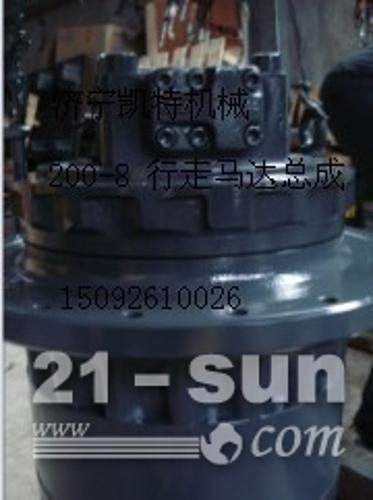 小松挖掘机配件 PC200-8行走马达总成