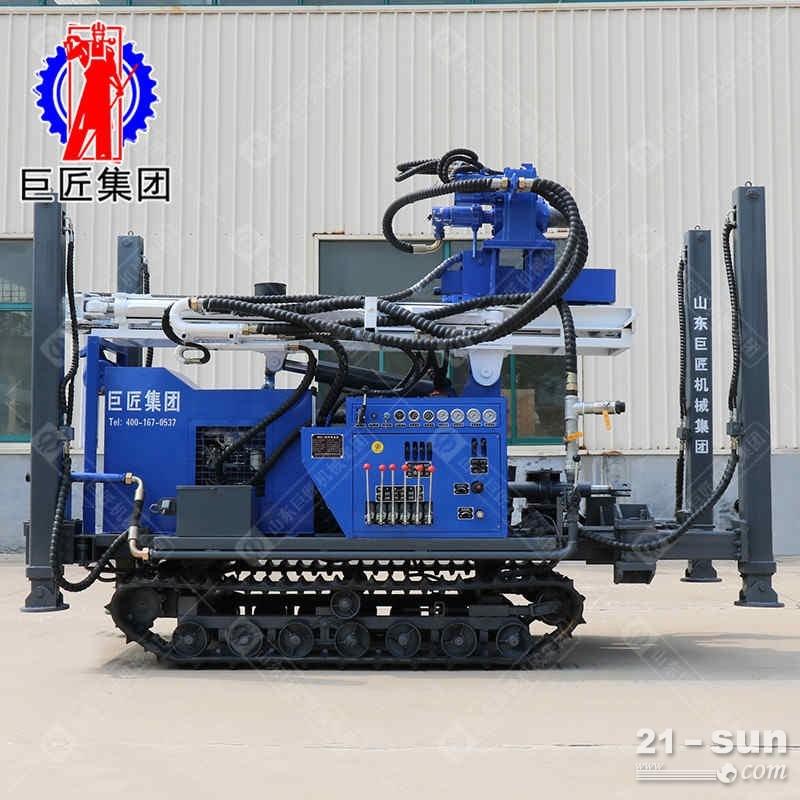 HBZ-1型履带式环保钻机环保钻机