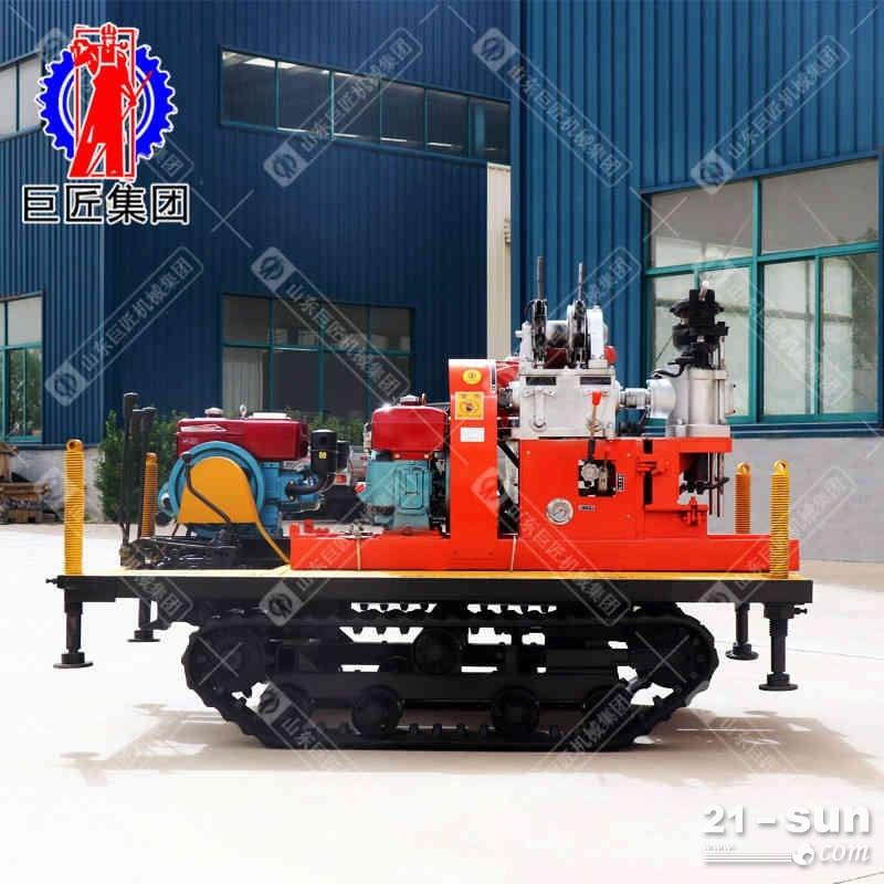 YQZD-30型履带式液压轻便钻机履带式钻机