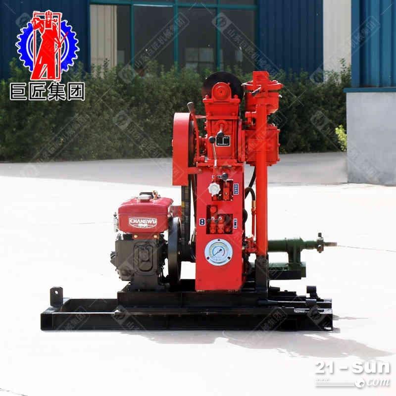 YQZ-50B型液压轻便钻机地质岩心钻探