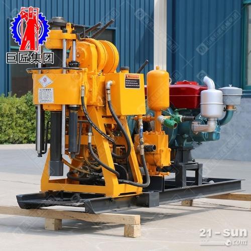 液压百米钻井机HZ-130Y 130米地质勘探岩心取样液压水井钻机