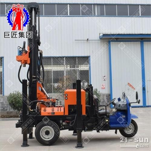 200米车载式气动钻机CJC-200型潜孔钻车效率高