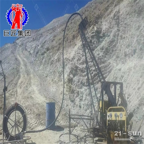 KY-200金属矿山全液压探矿钻机
