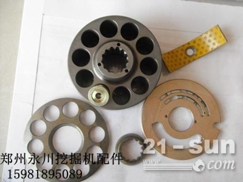 厦工804液压泵配件摇摆轴瓦传动轴骨架油封河南郑州15981...