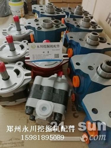 厦工806液压泵先导泵齿轮泵郑州永川挖掘机配件1598189...