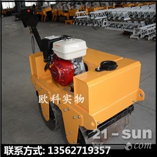 手扶700型单钢轮压路机混凝土路面压实机