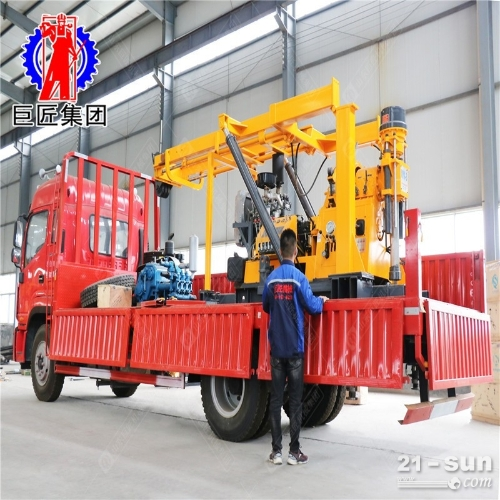 Xyc-3型汽车钻能打600米的勘探钻机取岩心钻机效率高