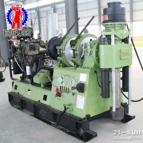 巨匠供货千米液压钻机XY-44A型勘探岩心钻机大功率取样钻机
