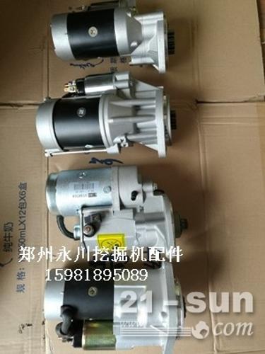 柳工906/907/908发动机启动马达发电机水泵机油泵15...