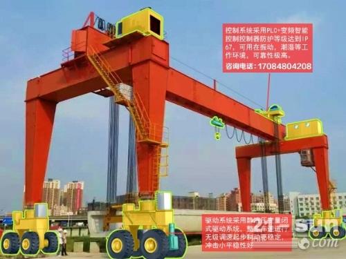 广东东莞10吨轮胎式起重机价格 节能效果明显