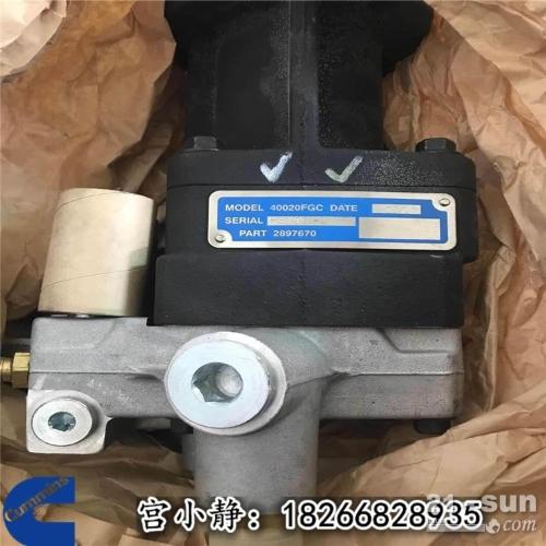 别拉斯75131矿卡进口康明斯2897670燃油泵QSK45