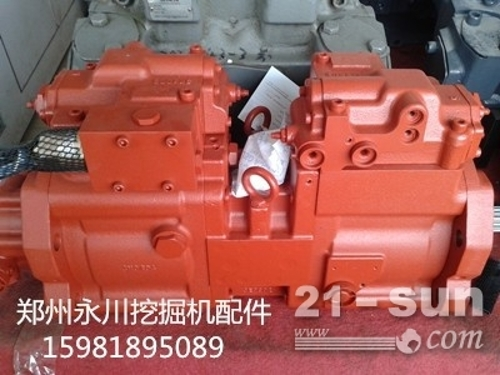 K3V112DT液压泵缸体柱塞配油盘15981895089郑...