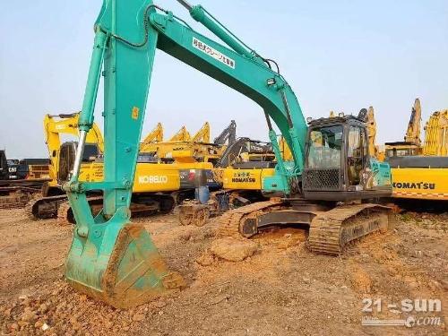 神钢SK210D二手挖掘机