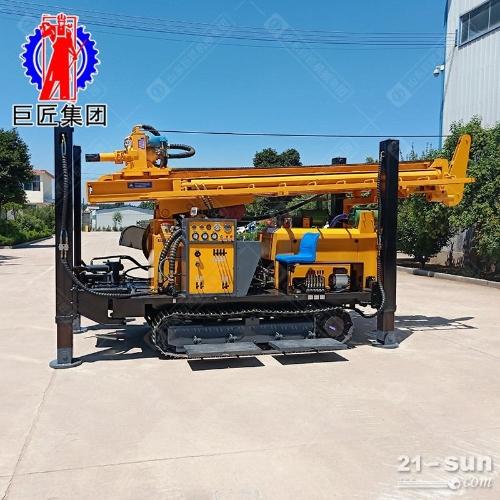 FY-350履带式气动水井钻机