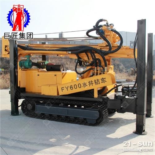 FY-600履带式气动水井钻机