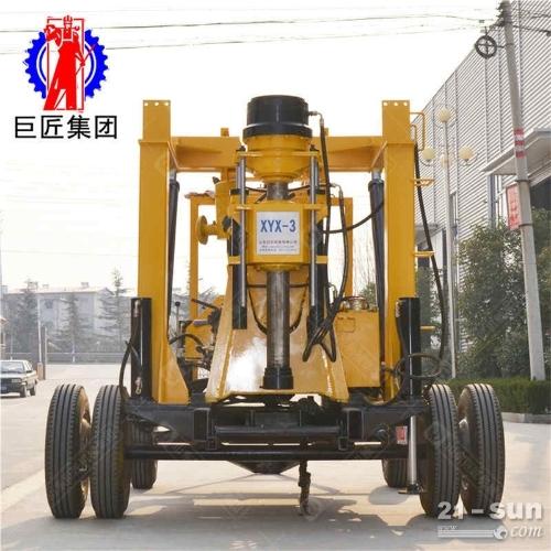 巨匠供应 轮式XYX-3型液压地质勘探取芯钻机 大型地质勘探设备