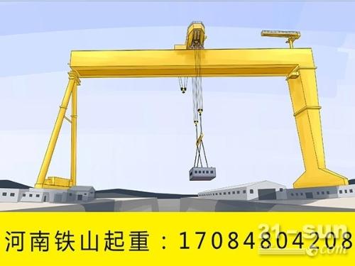 低净空式龙门吊5吨优点 云南昭通花架龙门吊出租厂家