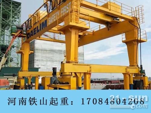 100吨龙门吊有现货 贵州安顺轮胎门式起重机厂家