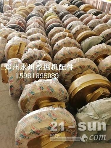 小松130支重轮托链轮引导轮驱动齿郑州永川挖掘机配件1598...